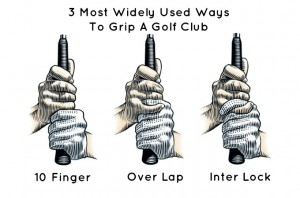 Golf-Grip-3-types