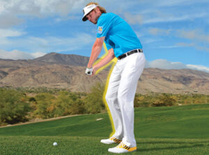 Learn to swing with confidence using an inside to outside swing.  Brandt setups with confidence faster than anyone.
