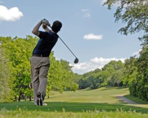 Hold your finish in balance and enjoy the view as you ball lands on your target.