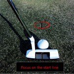 start-line for focus on putting