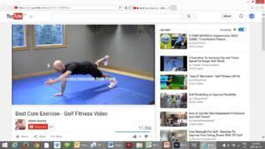 "Google ""Core Strength for Golf""  or click to check out this one."