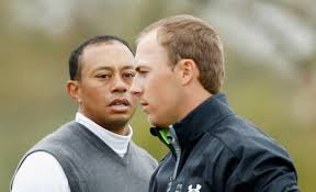 Tiger Woods and Jordon Spieth are both suffering from Head Games today.  Where did the magic go?