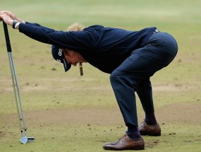 Miguel Angel Jimenez never stops stretching to avoid injury. Pain will slow you down and sometimes it's the best thing for your game. It was for mine.